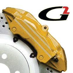 G2 USA - G2168 - Gold High Temperature Brake Caliper Paint System Set