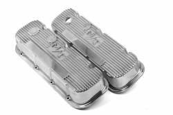 Holley Performance - Holley Performance M/T Retro Aluminum Valve Covers 241-84