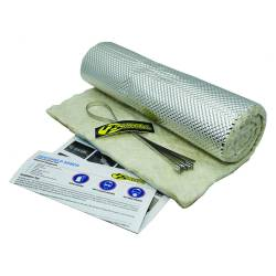 "Heatshield Products - HSP171005 - Heatshield Armor Kit - 1/4"" Thick, 1' x 5' with (6) 5/16"" W x 14"" L Ties"