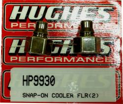 Hughes Performance - HPHP9930 - Snap On Cooler Adapter Fittings for GM 4L80E, 4L85E, 4L70E, 4L65E, 4L60E