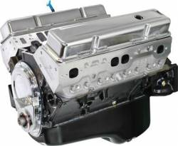 Blue Print - Small Block Crate Engine by BluePrint Engines BluePrint Engines BP38313CT1 383CI 430HP Stroker Crate Engine, Small Block GM Style, Longblock, Aluminum Heads, Roller Cam