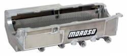Moroso Performance - MOR21581 - Chevy Big Block Fits: Competition Eliminator, Top Dragster, Top Sportsman, Super Comp, Super Gas & Bracket Cars. Oil Pan, Aluminum, 4-Stage. Engine Application: Mark IV style (except Gen V and Gen VI)
