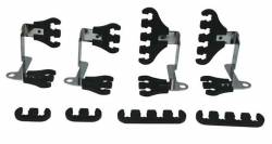 Moroso Performance - MOR72174 - Moroso Super Loom Kit - Black, 7-9mm