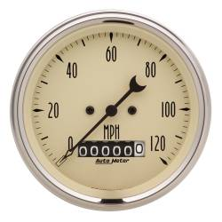 AutoMeter - AutoMeter Antique Beige Electric Programmable Speedometer 1879