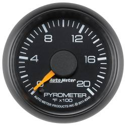 AutoMeter - AutoMeter Chevy Factory Match Electric Pyrometer Gauge Kit 8345