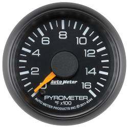 AutoMeter - AutoMeter Chevy Factory Match Electric Pyrometer Gauge Kit 8344
