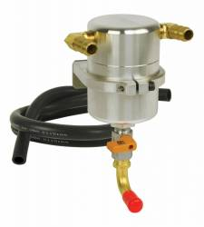 Moroso Performance - MOR85487 - Moroso Air-Oil Separator Large Body, Chevy Camaro SS, 2010-UP, ZL1, 2012-UP