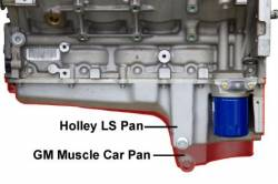 PACE Performance - GMP-302-1K - Complete Holley LS Retro-Fit Oil Pan Kit