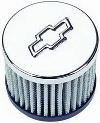 "Proform - 141622 - Push-In Style Air Filter Breather without Hood - 3"" Diameter"