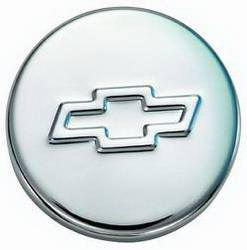 "Proform - 141630 - Chrome Push-In Oil Filler Cap with Bowtie Emblem - Fits 1.22"" Diameter Hole"