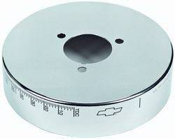 "Proform - 141725 - 6-3/4"" Chrome Harmonic Balancer - SBC"
