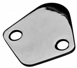 Proform - 66107 - Chrome Fuel Pump Block-Off Plate - Chevy Big Block and Most V6, Ford 289-302, Chrysler 273-440