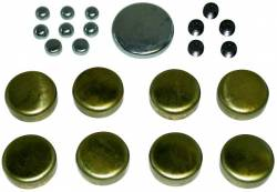Proform - 66554 - Brass Freeze Plug Kit - Ford 352, 390, 428