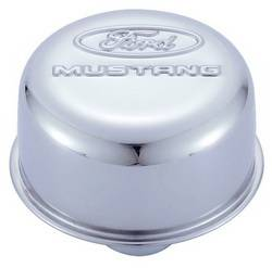 Proform - 302220 - Ford Mustang Air Breather Cap - Chrome, Push-In