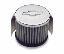"Proform - 141625 - Clamp-On Air Filter Breather with Hood - 3"" Diameter, Fits 1-3/8"" Vent Tubes"