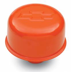"Proform - 141786 - Chevy Orange Push-In Air Breather Cap, 3"" Diameter"