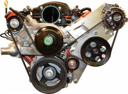 PACE Performance - GMP-K10168-1 - LS Engine (1-Wire) Alternator & P/S Camaro or Truck Serp Drive Kit