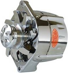 Powermaster - Powermaster Smooth Look Alternator 17296-313