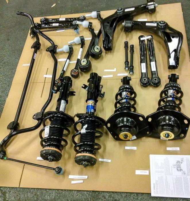 Chevrolet Performance Parts - 23464729 - Z/28 Suspension Kit, 2010-15 Camaro Gen 5