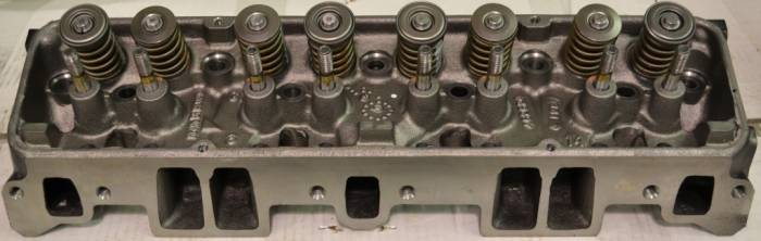 PACE Performance - PAC-93438649 - Fully Asembled 350 Cast Iron Cylinder Head
