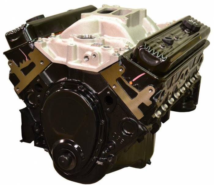 PACE Performance - GMP-10067353-VKX - Pace Prepped and Primed SBC 350cid 350HP Vortec Long Block w/ Intake