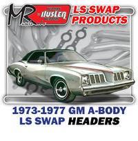 "Hedman Hedders - HD45780 1973-77 GM A Body 1-3/4"" Mid Length LS Engine Swap Headers"