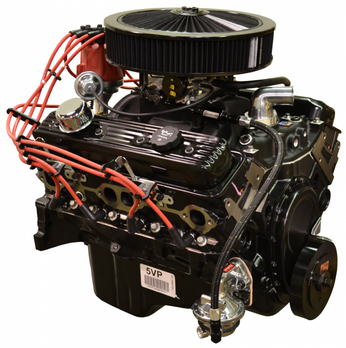 PACE Performance - GMP-10067353-V2X - Pace Prepped & Primed Chevy 350 350HP Turnkey  Engine with Edelbrock Carb