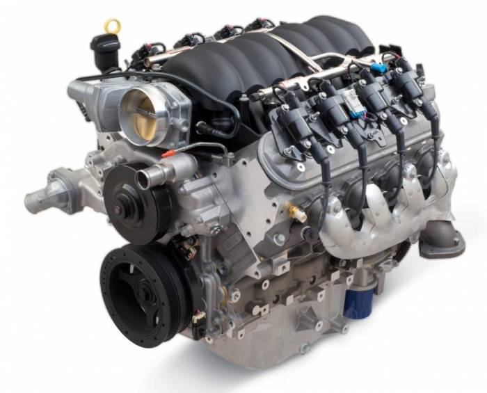 Chevrolet Performance Parts - CPSLS376480T56 - Chevrolet Performance LS3  480 HP  Engine with T56 6 Speed