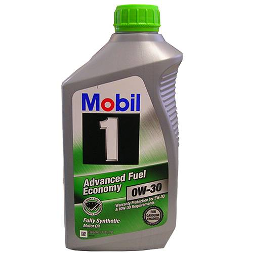 Mobil 1 - 12347283 - 0W30 Mobil 1 Synthetic Oil - 1 Quart