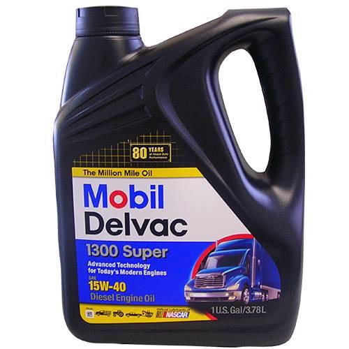 Mobil 1 - 88862469 - 15W40 Mobil Delvac 1300 CJ4 Oil - 1 Gallon