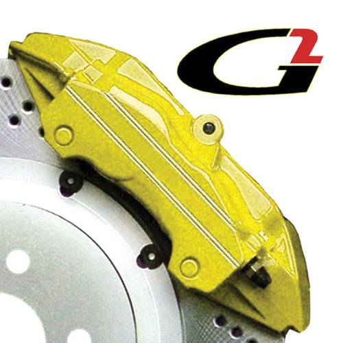 G2 USA - G2161 - Yellow High Temperature Brake Caliper Paint System Set