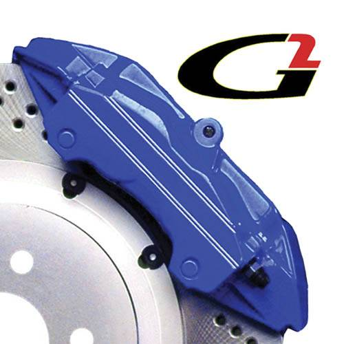G2 USA - G2162 - Blue High Temperature Brake Caliper Paint System Set
