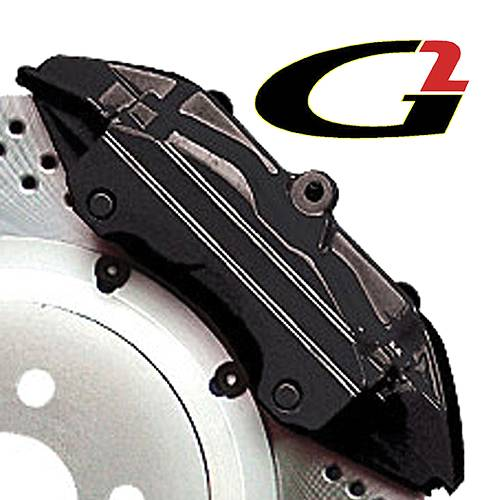 G2 USA - G2164 - Black High Temperature Brake Caliper Paint System Set