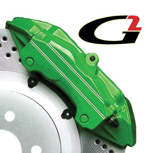G2 USA - G2166 - Green High Temperature Brake Caliper Paint System Set