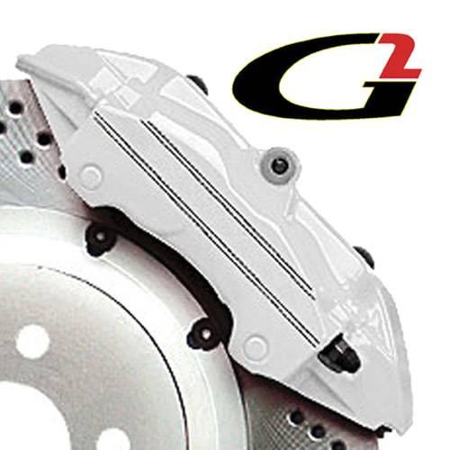 G2 USA - G2167 - White High Temperature Brake Caliper Paint System Set