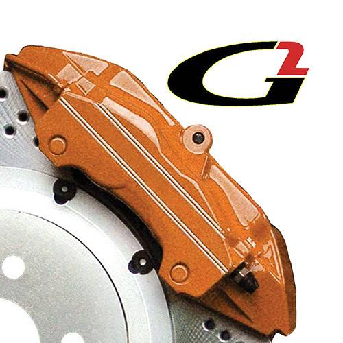 G2 USA - G2169 - Orange High Temperature Brake Caliper Paint System Set