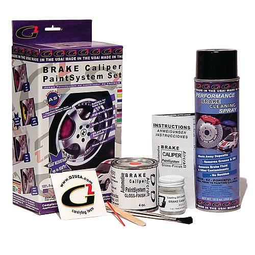 G2 USA - G3000-T8 - Mustang Tungsten Grey G2 Brake Caliper Paint