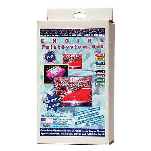 G2 USA - G45163 - Silver G2 Engine Paint System Set