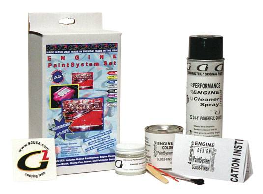 G2 USA - G45171 - Lime Green G2 Engine Paint System Set