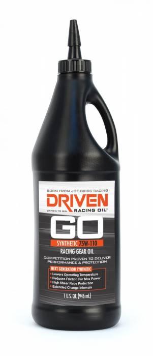 Joe Gibbs Driven Racing Oil - JGD-00630 - Joe Gibbs Synthetic Racing Gear Oil  - 75W-110 - 1 Quart Bottle