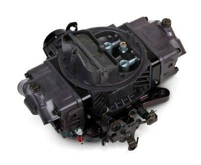 Holley Performance - HLY0-76750HB Holley 750CFM Ultra Double Pumper Carburetor, Electric Choke, Mechanical Secondaries, Hard Core Gray w/ Black Anodized Billet Aluminum Metering Blocks/Base Plate