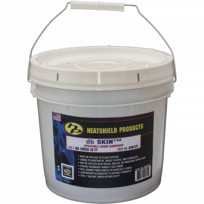 Heatshield Products - HSP040103 - Heatshield Products db Skin™ Sprayable Sound Dampener, 2 Gallon