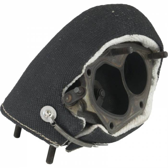 Heatshield Products - HSP300545 - Heatshield Products Stealth Turbo Shield - Fits Large/Mid-Frame T4 Flange Housings