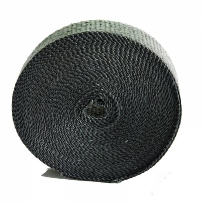 "Heatshield Products - HSP321025 - Exhaust Heat Wrap - 1"" Wide X 1/16"" Thick X 25' Long - Standard Grade- Black"