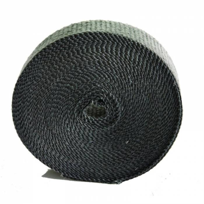 "Heatshield Products - HSP321050 - Exhaust Heat Wrap - 1"" Wide X 1/16"" Thick X 50' Long - Standard Grade- Black"