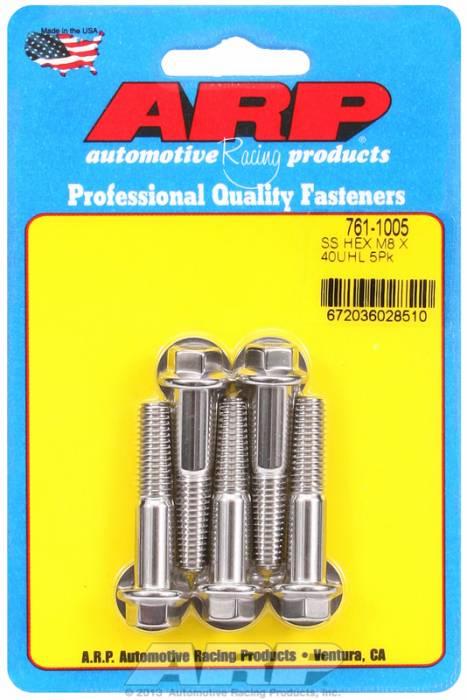 ARP - ARP7611005 - M8 X 1.25 X 40 HEX S