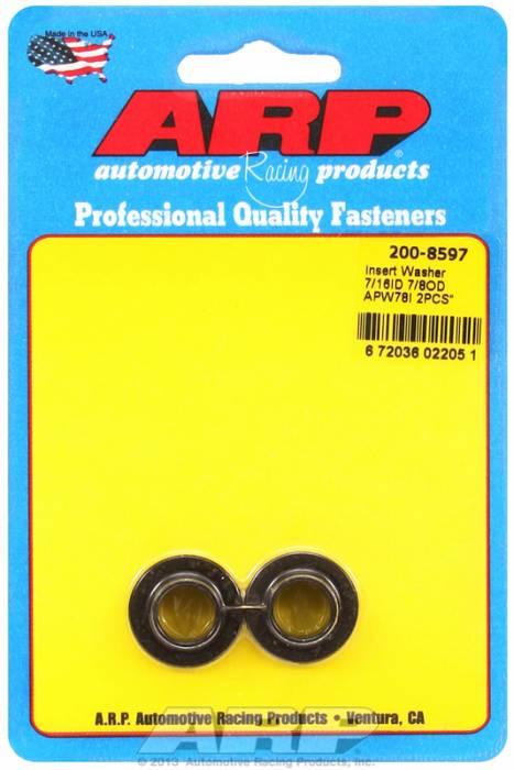 """ARP - ARP2008597 - ARP Insert Washer - 7/16"""" - 2 Pack"""