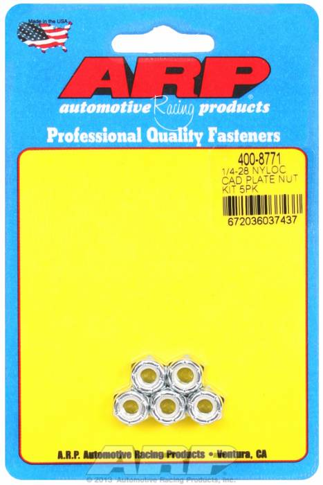 ARP - ARP4008771 - CAD PLATE NUT KIT