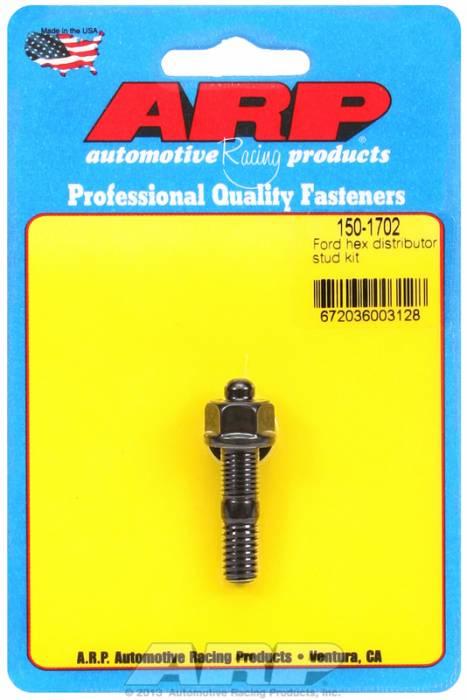 ARP - ARP1501702 - ARP Distributor Stud-Pontiac-Black Oxide- 6 Point Nut