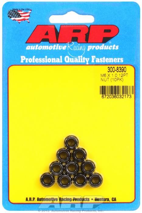 ARP - ARP3008390 - M6X1.00 12PT NUT KIT